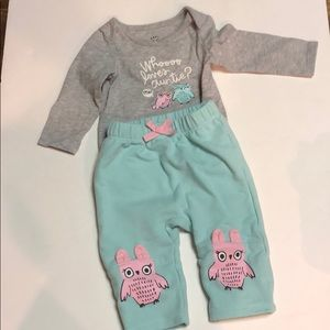 Cat and jack outfits size 0-3 months